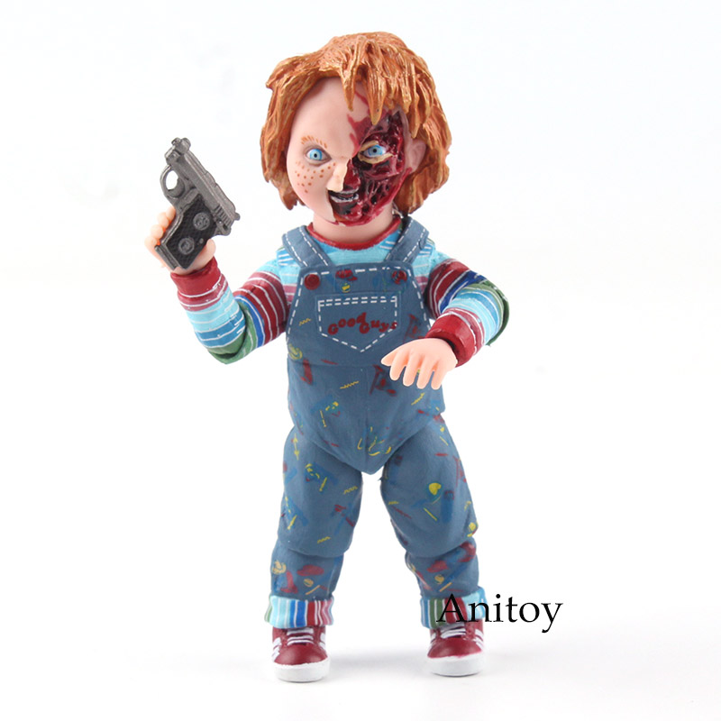 Child's Play Chucky Good Guys accessories PVC Action Figure Collectible Model Toy 10.5cm KT4775 new hot christmas gift 21inch 52cm bearbrick be rbrick fashion toy pvc action figure collectible model toy decoration