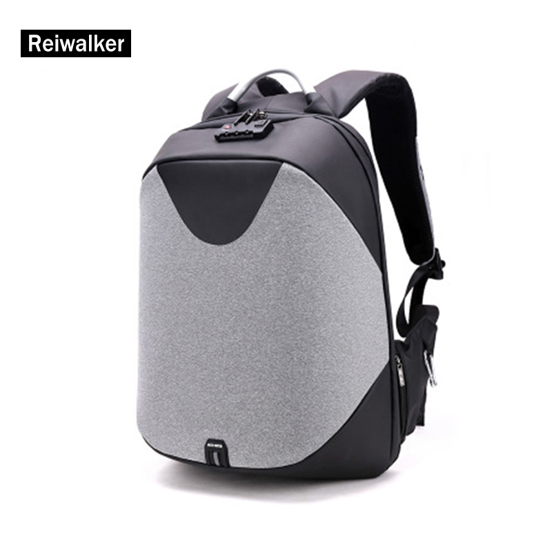 YULO Men Laptop Backpacks Patchwork Backpack Anti theft Multifunction USB Charging Locked Men Waterproof Travel Backpack Zaino yulo men s laptop backpack patchwork backpack anti theft multifunction usb charging men s waterproof travel bag