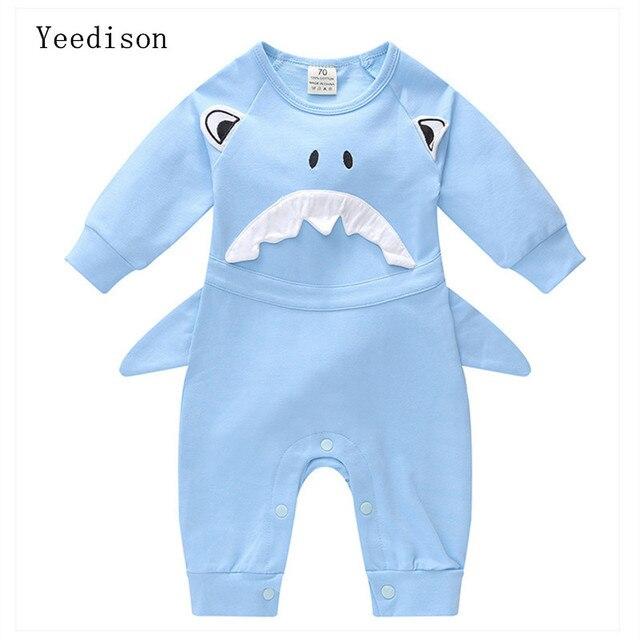 8e9596c25 Yeedison 2018 new cotton fashion comfortable baby conjoined newborn ...