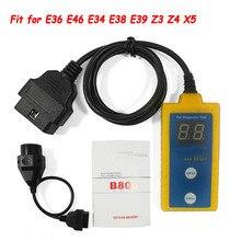 أداة إعادة تعيين الوسادة الهوائية الاحترافية B800 ، لسيارات BM 1994 2003 E36 E46 E34 E38 E39 Z3 Z4 X5 B800 ، قراءة وواضحة ، رموز الخطأ للوسادة الهوائية