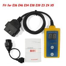 プロエアバッグスキャンツールB800 bm 1994 2003 E36 E46 E34 E38 E39 Z3 Z4 X5 B800読み、明確なエアバッグトラブルコード
