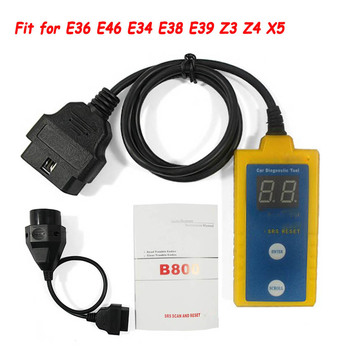 Top Quality Airbag Scan Reset Tool B800 for BMW 1994-2003 E36 E46 E34 E38 E39 Z3 Z4 X5 B800 Read and Clear Airbag Trouble Codes фото
