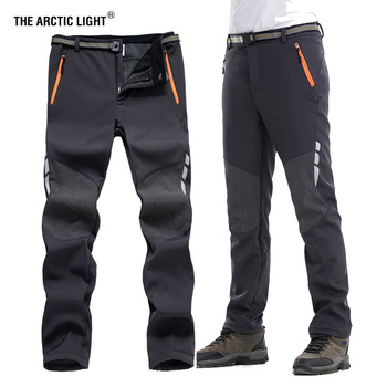 THE ARCTIC LIGHT Outdoor Camping Hiking Pant Men Winter Windproof Mountain Fishing Skiing Climbing Nature Hike Trekking Trousers the arctic light men windproof waterproof soft shell hiking ski jacket outdoor skiing coat camping trekking splice color
