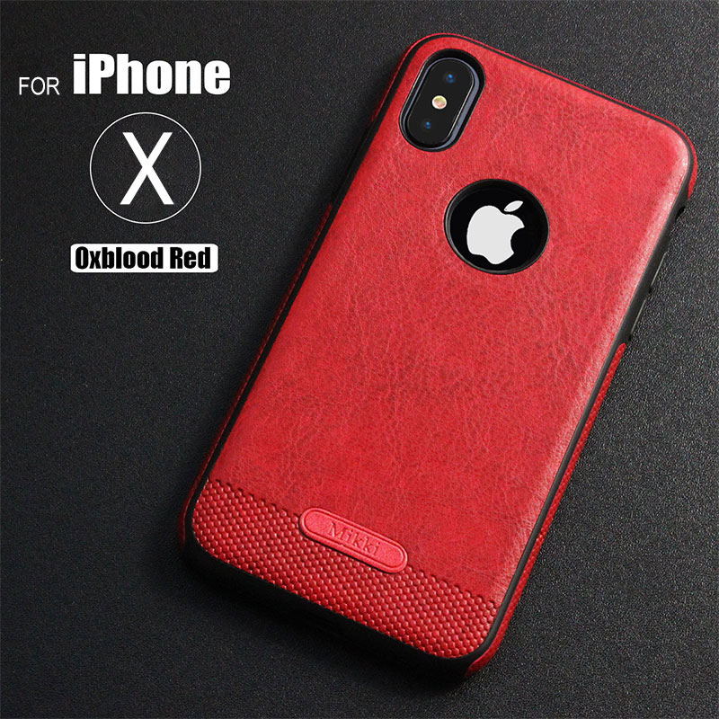 buy online 236ab d8ae5 US $3.57 |For Apple iPhone X 8 7 6 6S Plus Case Luxury Ultra Slim Soft TPU  Leather Back Full Cover For iPhone X 8 6 6S 7 Plus Phone Cases-in Fitted ...