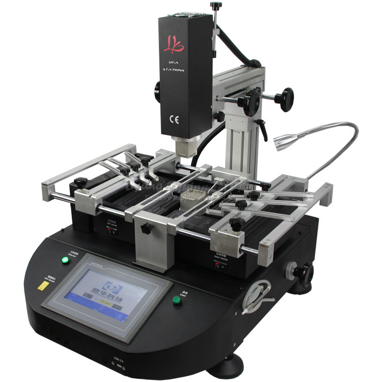 BGA solder machine LY 5830C hot air 3 zones for Laptop Motherboard Chip Repair 4500W ZM R5830 include tax to Europe 4500w ly 5830c lcd touch screen bga rework station soldering machine hot air 3 zones for motherboard chip repairing free tax eu