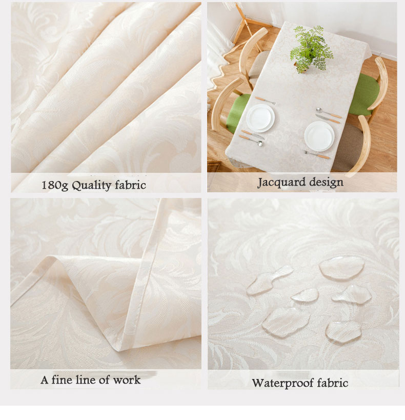 Modern Simple Style Table Cloth