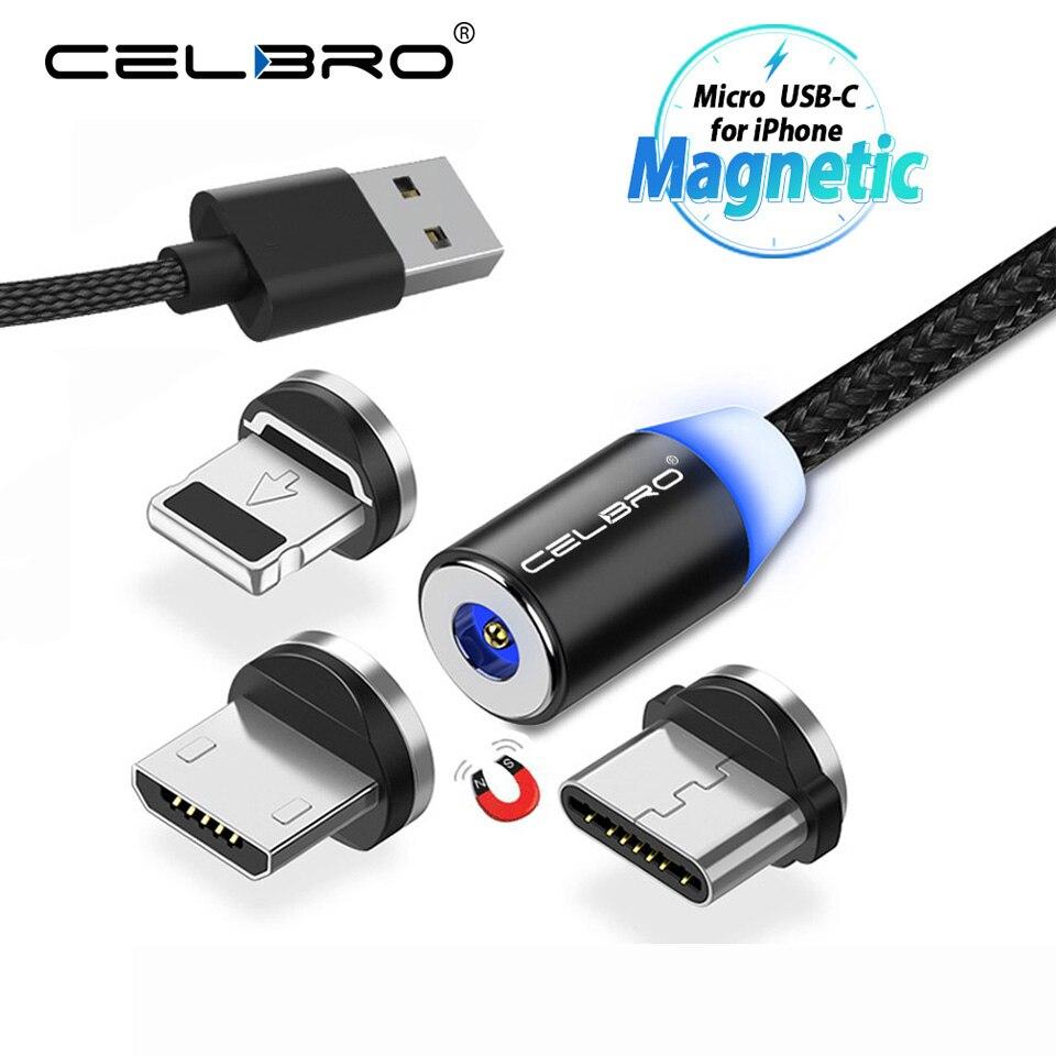 1 M 2 M Magnetische Usb Ladekabel Mi Cro Usb Typ C Magnet Kabel Für Xiao Mi Mi 9 Mi 9 Se Sony Xperia 10 Plus Handy Kabel