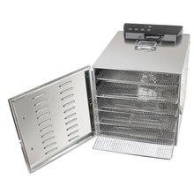 Food Dryer Dehydrator Electric Fruit Dehydrator Drying Machine Snacks Food Dehydrators Fruit Dehydration Machine 6 Layer