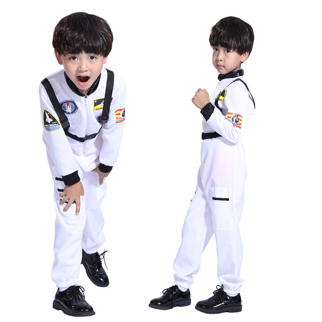 Free shipping Halloween Costume boys clothing astronaut astronaut clothes dance mask cosplay suit pilots  sc 1 st  AliExpress.com & Free shipping Halloween Costume boys clothing astronaut astronaut ...