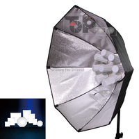 NEW 324W Photo Studio Lighting Softbox Video 5500K LED Bulb Light Kit 9Bulbs