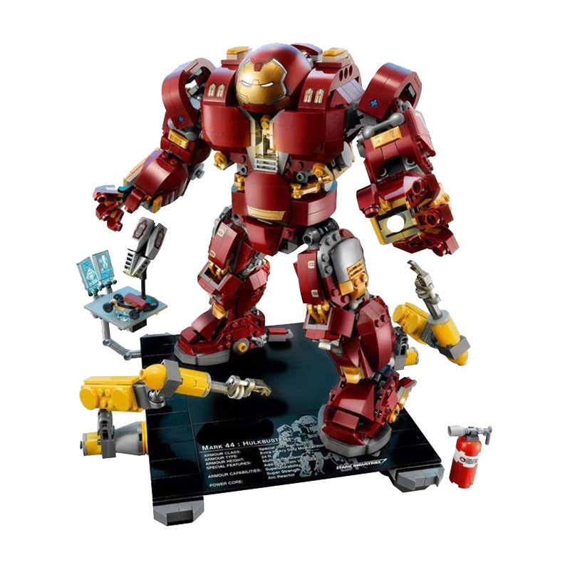 LEPIN Super hero the Hulk Buster Lutron Edition Building Blocks Bricks Set Movie Model Kids Classic Toys Marvel Compatible Legoe super hero arvel the avengers movie hulk green hulk movie 10 inches loose action figure dc001008 dc001008a