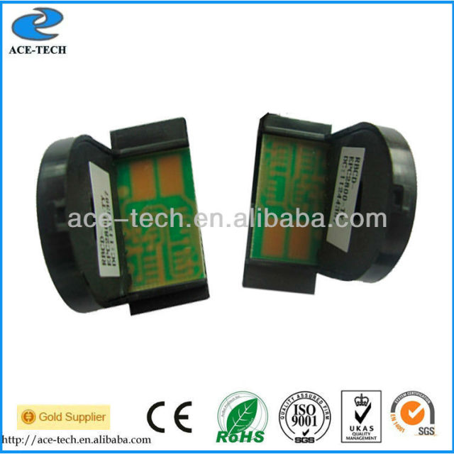 Compatible reset toner chip for Epson Aculaser C3800 color laser printer refill cartridge OEM C13S051124~C13S051127
