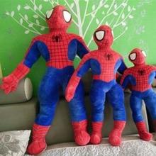 Fancytrader Pop Anime Spiderman Plush Toy 85cm Big Soft Superhero Doll Best Birthday Gifts for Children
