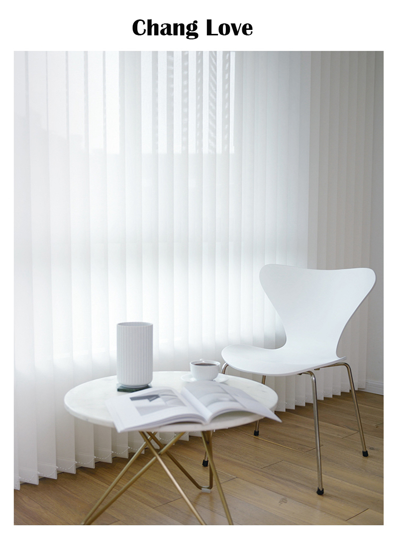 Free Shipping Quality Sunscreen Vinyl Vertical Blinds 89mm Vane for Customized Size