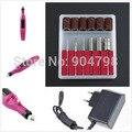 1 Unidades 20000 RPM Uñas Taladro Art Machine Salon Manicure File Profesional herramientas del clavo Polaco de la Pluma de Pedicura UE Plug Envío gratis