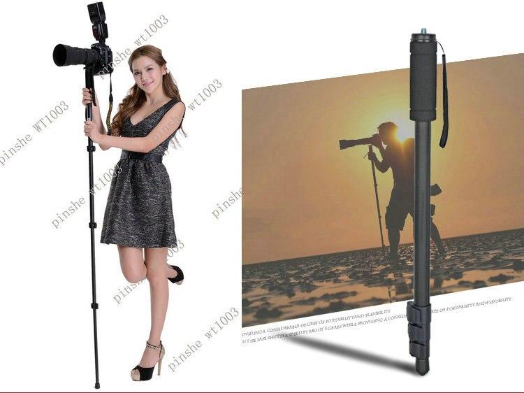 Mise à niveau de l'appareil photo Portable Unipod monopode WT1003 pour Nikon Canon Sony Fuji Samsung etc.