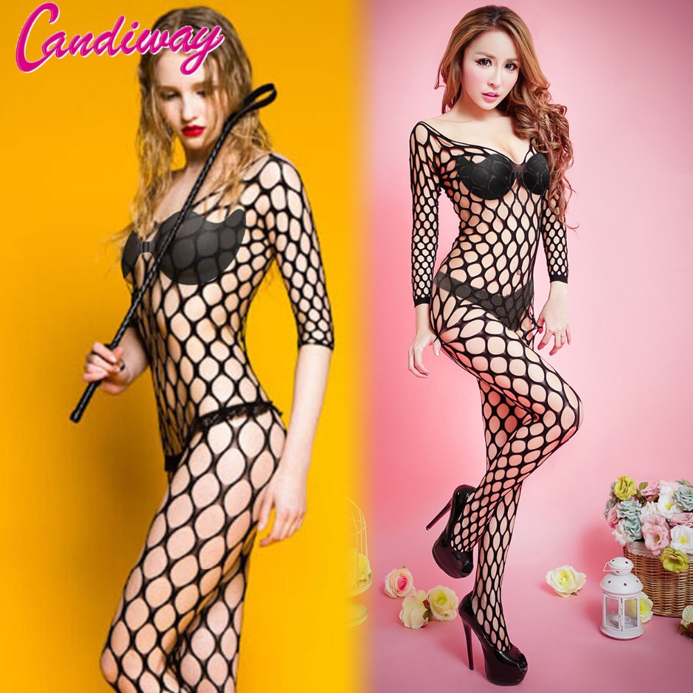 BDSM Whips Sexy Mesh Bodystockings Women Hot Cosplay Sexy Lady Fishnet Lingerie Open Crotchless Fishnet Suit Bondage Horse Ride