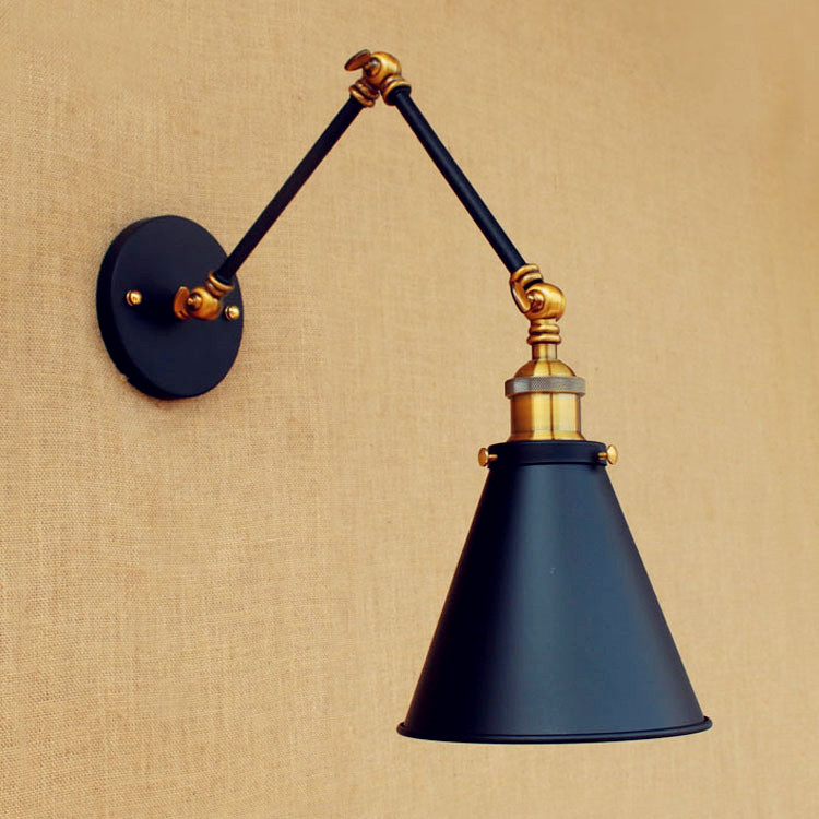 15cm Retro Loft Vintage Wall Lights For Home Swing Long Arm Light Industrial Wall Lamp Sconce Appliques Murales Wandlamp swing long arm wall light rustic retro loft style industrial wall lamp vintage wandlamp edison wall sconces appliques murales