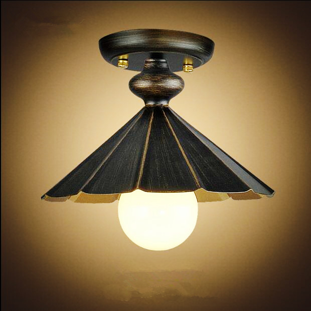 American Retro LED Vintage ceiling Light Fixtures Living Room Industrial Ceiling Lamp Plafondlamp Lampara Techo iwhd water pipe retro vintage ceiling light fixtures living room edison loft industrial ceiling lamp lights lampara techo