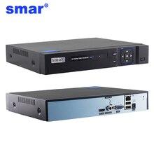 Smar H.265 กล้องวงจรปิด NVR 16CH 5MP ระบบรักษาความปลอดภัย 16 ช่อง 1080P Network Video Recorder การตรวจจับการเคลื่อนไหว XMEYE P2P ONVIF