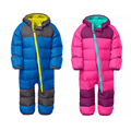 Baby Winter Down Rompers Kids Clothing Boy Outdoor Waterproof Coat Small Children Ski Suit Girls Overall Windproof Jumpsuit