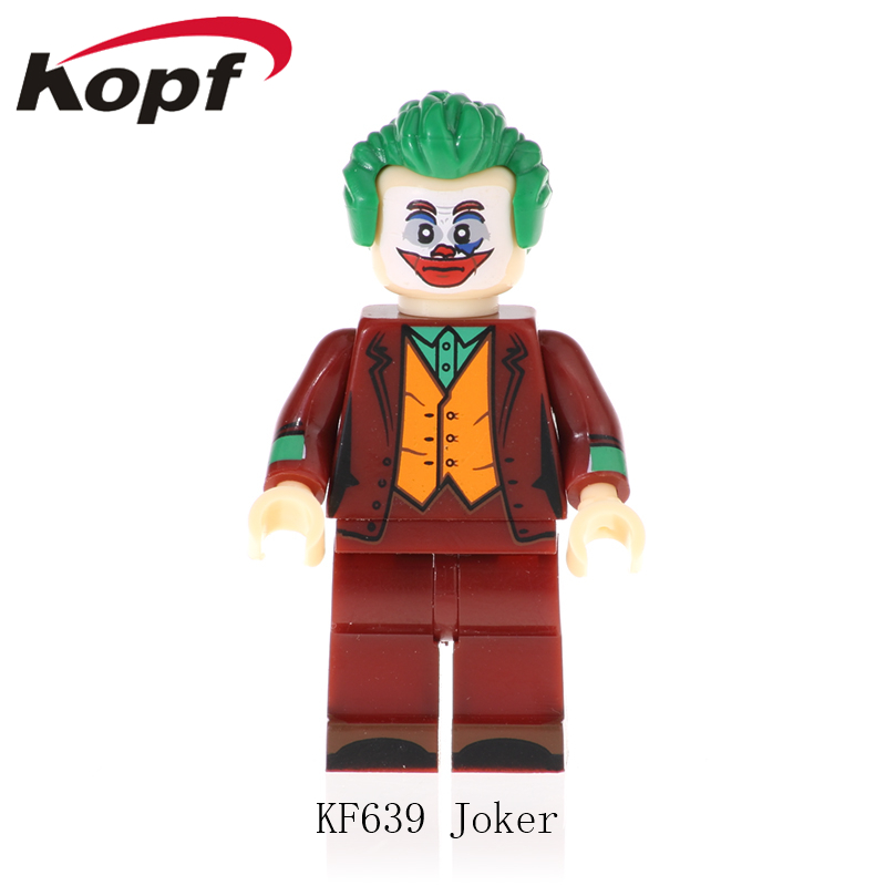 Single Sale Building BLocks Super Heroes Joker CW Superman Mr Miracle Dr Midnite Donna Troy Figures Toys For Children KF639