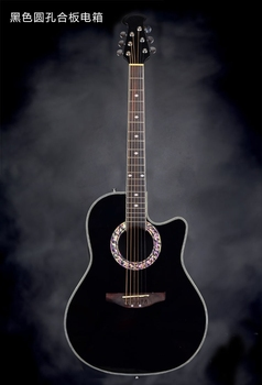 HOT! Gitara akustyczna Super Roundback/ Carbon Fiber Back & Side z EQ (ANT-126)