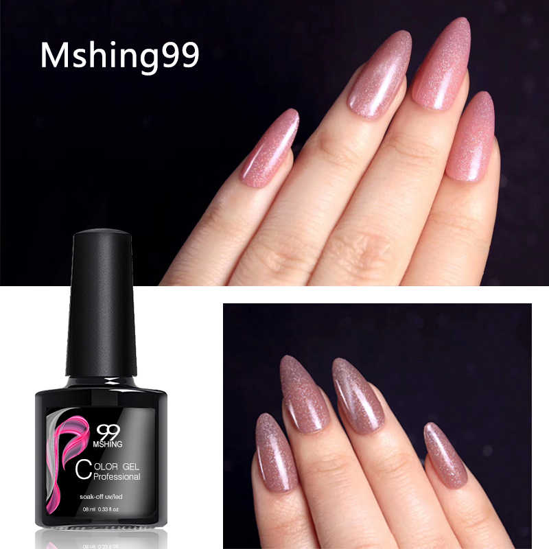 MSHING99 Gel Polish Set Tutto Per Manicure Semi Permanente Vernis basetop cappotto UV LED Gel Per Unghie Soak Off Unghie Artistiche Gel nail Polish