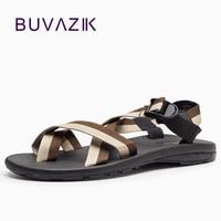 Mejor 2018 moda Vietnam sandalias hombres Aire Libre zapatos de hombre para ocio chanclas alta calidad suela de goma zapatillas de playa