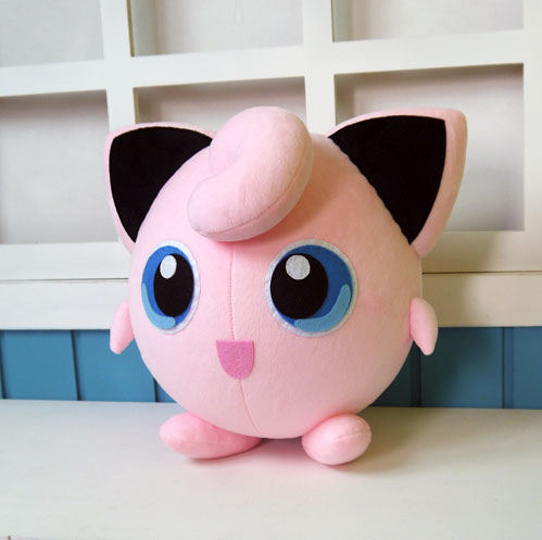 Jigglypuff plush toy anime Ash Ketchum Purin cosplay plush doll 28cm high quality pillow free shipping anime alphamax skytube comic matsuri fuyutsuki togetsu 1 6 scale sexy pvc action figure collectible model toys doll 17cm