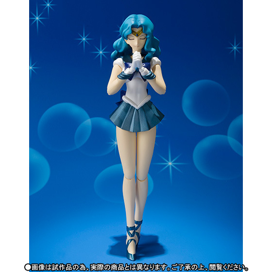 Shfiguarts Anime Sailor Moon Neptune Bjd Collection Beauty Girls Action Figure Toys 16cm Beneficial To Essential Medulla Toys & Hobbies