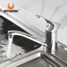 MYNAH Russia free shipping New Arrival Kitchen faucet Kitchen Tap Single Hole Water Tap torneira cozinha