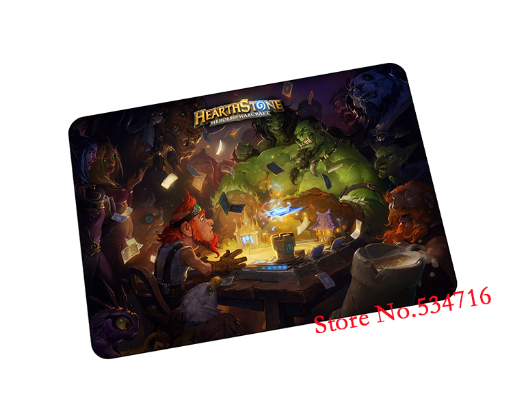 hearthstone mousepad Office gaming mouse pad Tasteless rubber gamer mouse mat pad game computer desk padmouse keyboard play mats