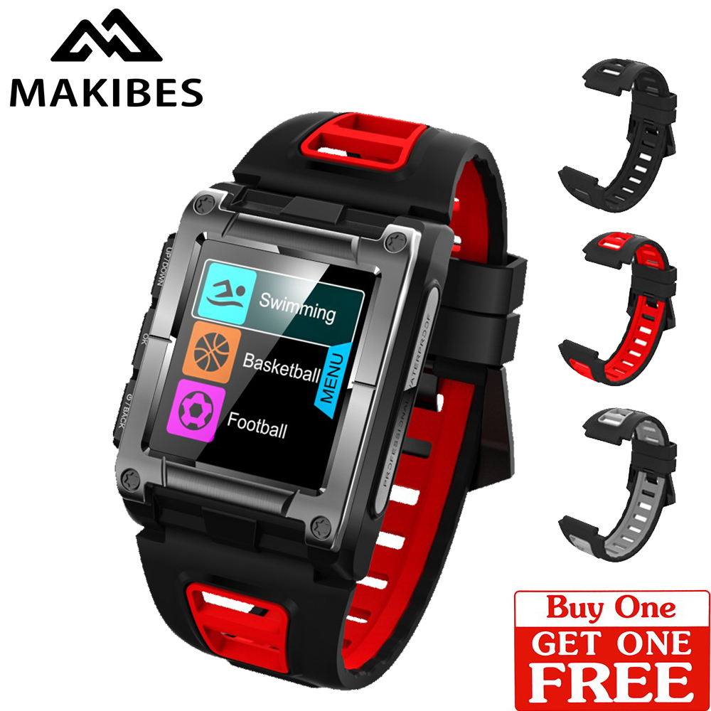 $4 coupon Free Strap G08 GPS Compass WristWatches Bluetooth IP68 Waterproof Heart Rate men's sport Smart Watches Fitness track цена