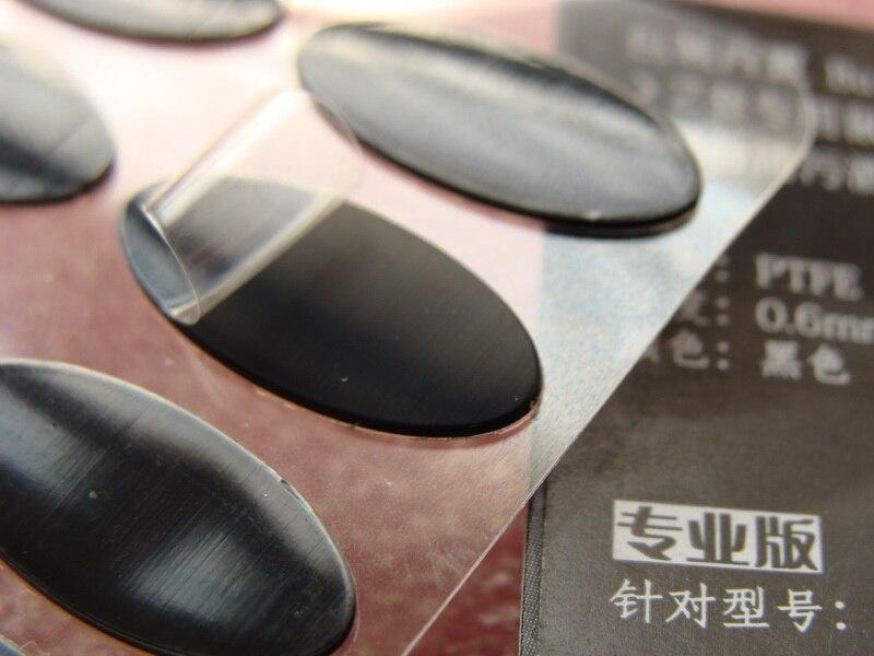 Оригинальный Tiger игры Мышь коньки для Steelseries Rival/Rival 300 тефлон Мышь ноги Мышь pad 0,6 мм Бесплатная доставка
