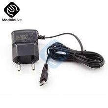 Штепсельная Вилка европейского стандарта 5V Быстрая зарядка Micro USB зарядное устройство адаптер для samsung htc LG sony сотовых телефонов кабель 125 см
