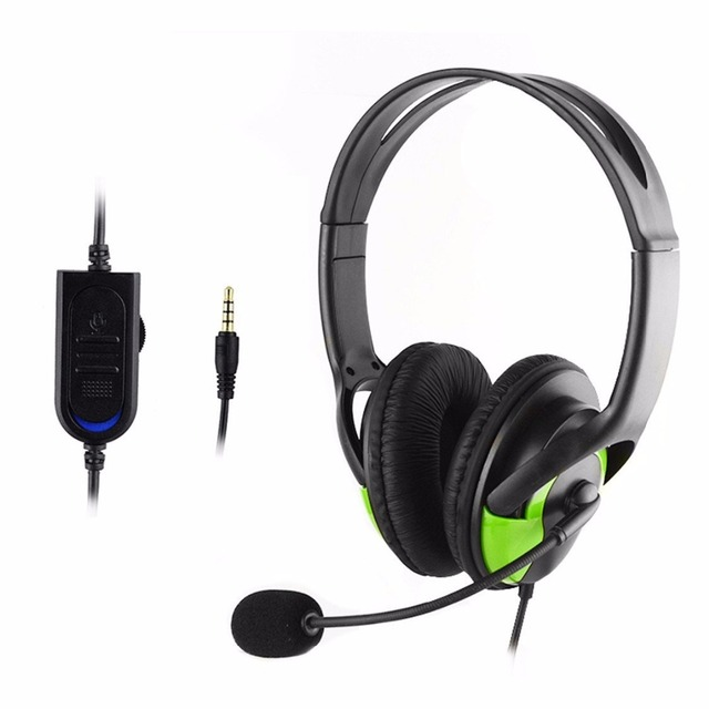 3.5mm Plug Wired Gaming Stereo Headset Headphone Earphone with ...
