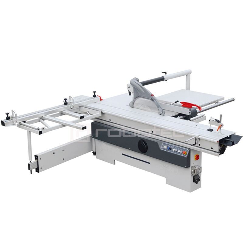 Best Selling Precision Woodworking Sliding Table Panel Saw 45 Degree Cutting Angle And 90 Degree