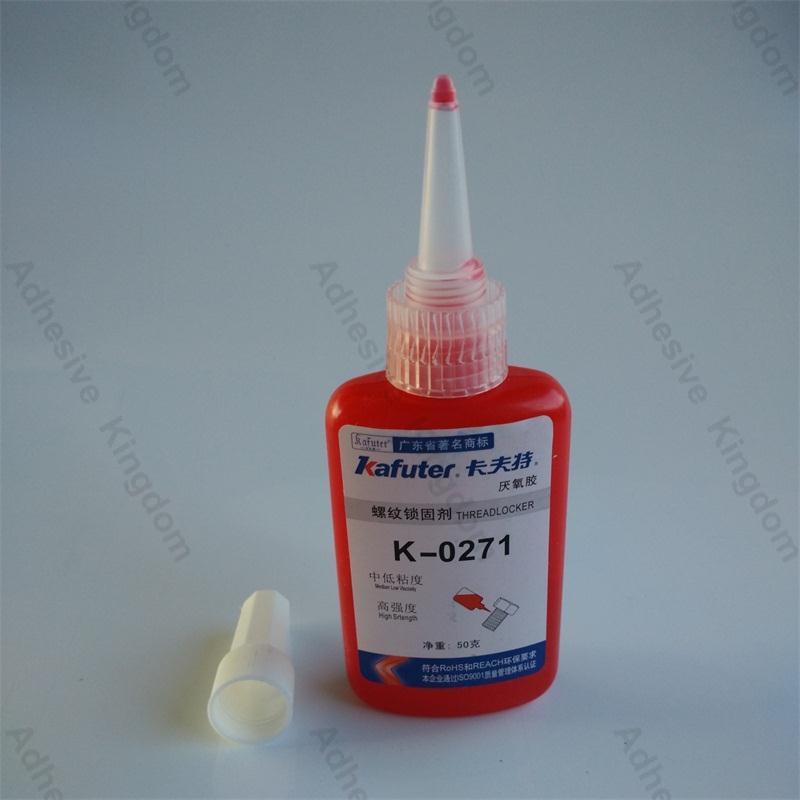 High Quality 10pcs lot kafuter K 0271 50g metal thread fixative anaerobic adhesive high strength screws