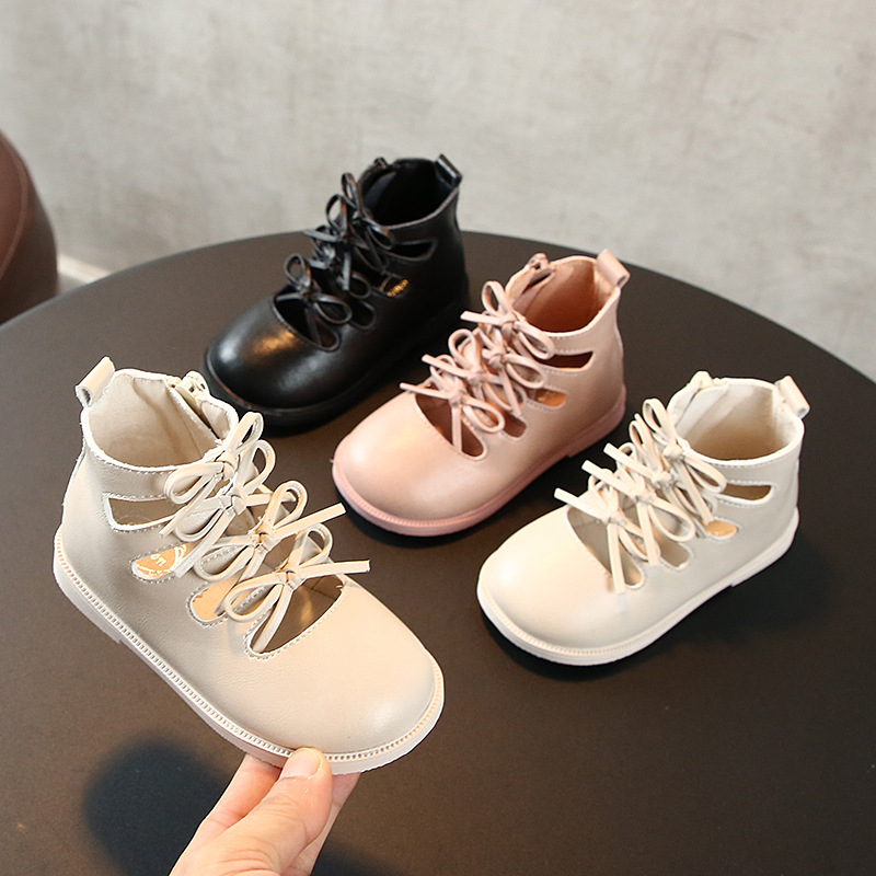 Autumn Children's Fashion Shoes Girls Princess Shoes 1-3 Years Old Baby Toddler Shoes  Girl Strap Shoes