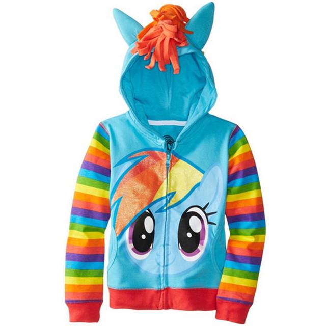 Chaqueta Con Capucha De Algodón escudo Niños Niñas Lindo Coat Anna cenicienta Children'Clothing Girls Ocio chaqueta con capucha bebé ropa de las muchachas