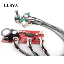 Lusya XR1075 BBE Tone Audio Board BBE Preamp Treble Bass Adjustment Preamplifier Board DC 12V-24V AC 9V-16V T0743