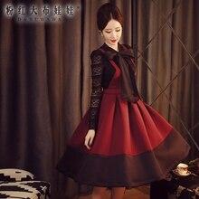 dabuwawa suspender skirt long 2016 women's autumn winter fashion casual new high waisted maxi skirts pink doll