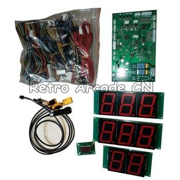 Kits de juegos de baloncesto que funcionan con monedas callejeras con placa base y sensores para DIY caja de juegos recreativos máquina de Juego de Pelota de tiro