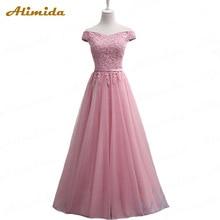 ALIMIDA платье для особых случаев Новые Вечерние платья с аппликациями Вечерние платья трапециевидной формы