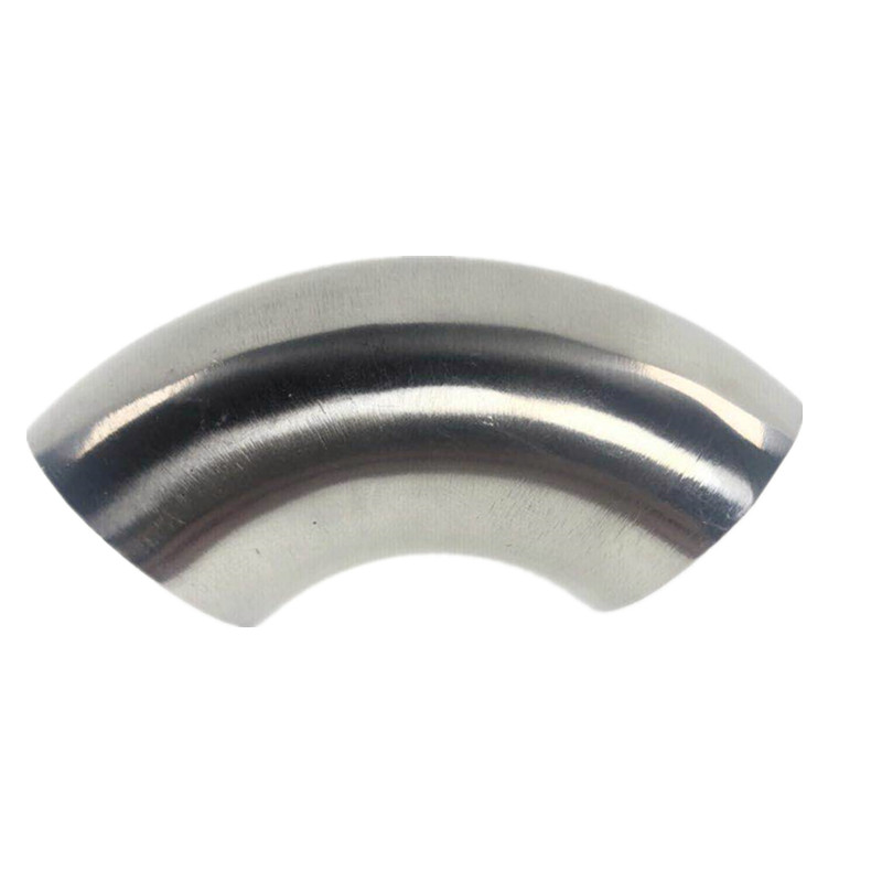 "1/2""-4-1/4"" Stainless Steel 304 OD Elbow 90 Degree Sanitary Welding Elbow Pipe Connection Fittings Polishing Food Grade"