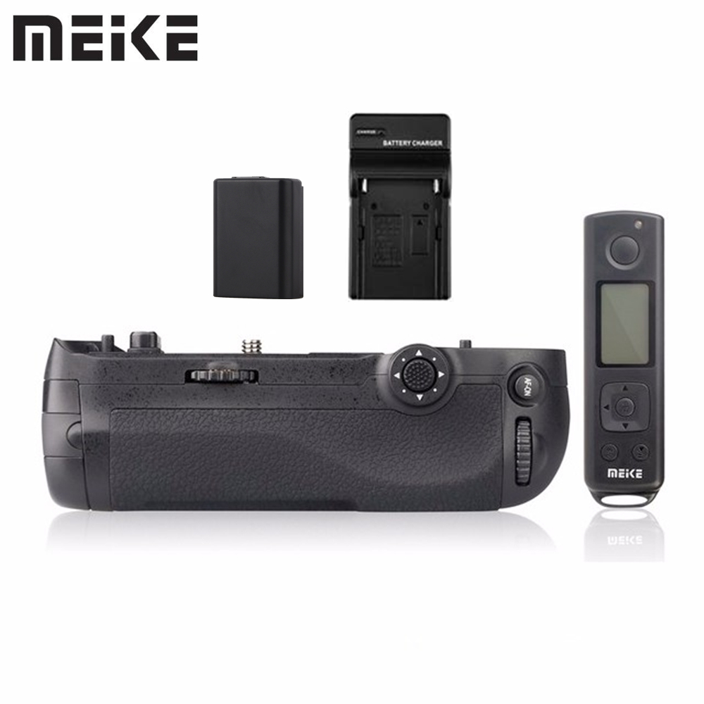 Meike MK D500 Pro Battery Grip with EN EL15 Battery for Nikon D500 Battery as MB