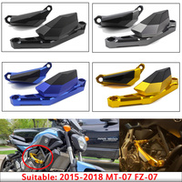 Motorcycle 15 16 17 18 MT 09 FZ 09 Engine Stator Guard Protective Slider Case Cover for 2015 2018 Yamaha MT09 FZ09 MT 09 FZ 09