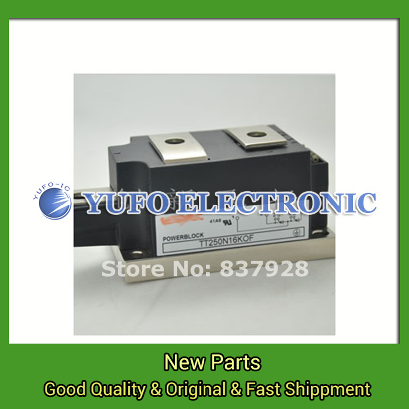 Free Shipping 1PCS  TT250N16KOF power Module, the original new, offers. Welcome to order YF0617 relay free shipping 1pcs bym300b170dn2 power module the original new offers welcome to order yf0617 relay