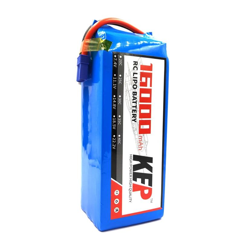 16000 mah de alta potencia rc lipo bateria 2 s 3 s 4s 5s 7 4